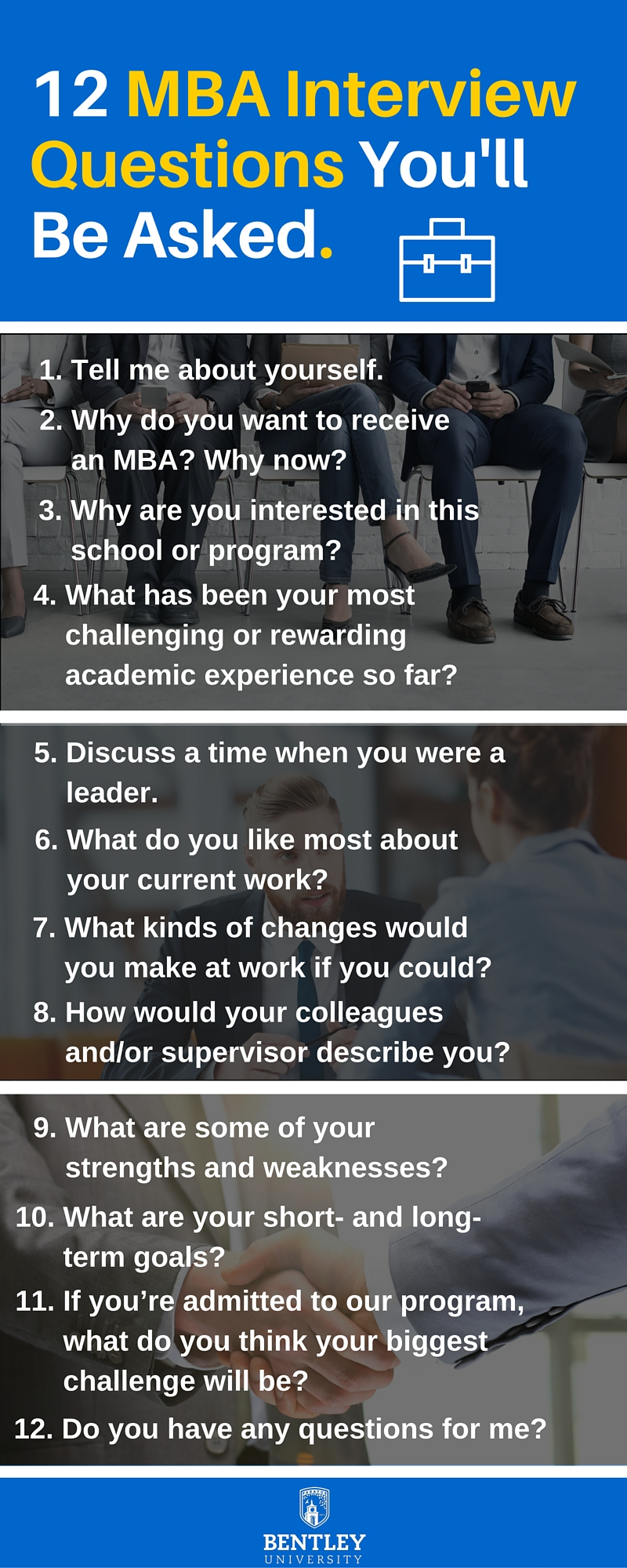 12 MBA Interview Questions