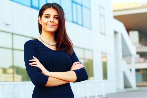 Stock Image of Woman in Business
