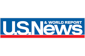 This is the logo for U.S. News & World Report.