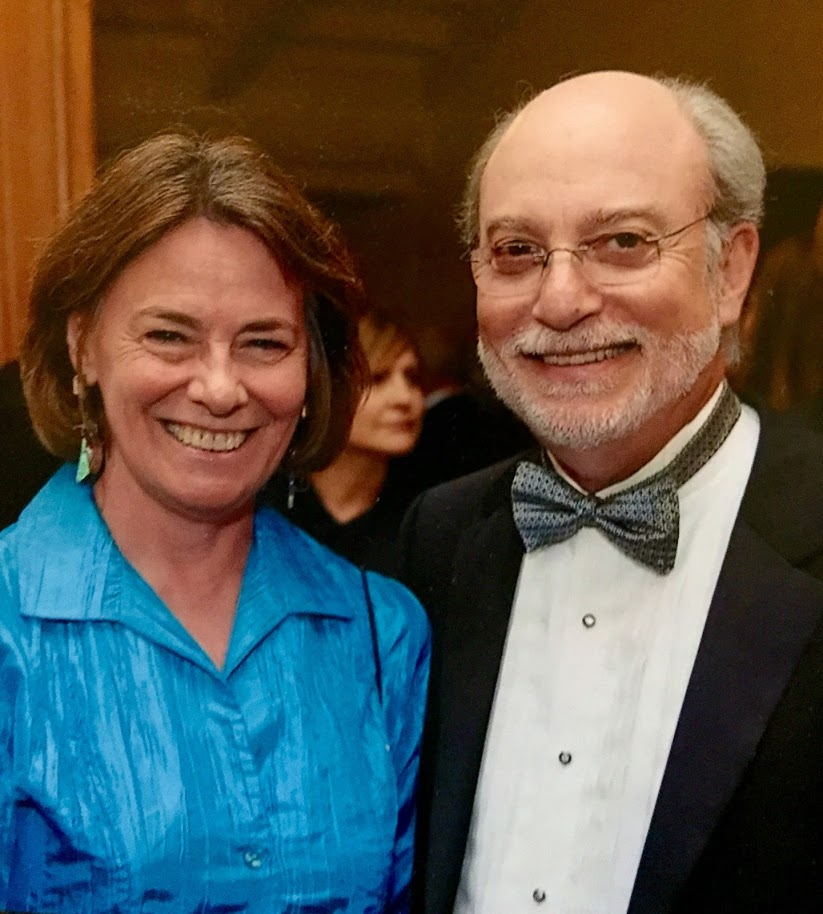 Professor Aaron Nurick and his wife Diane
