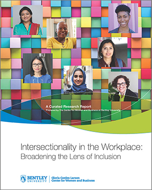 CWB Intersectionality Report Cover with image of diverse women representing the intersection of gender and other social identities