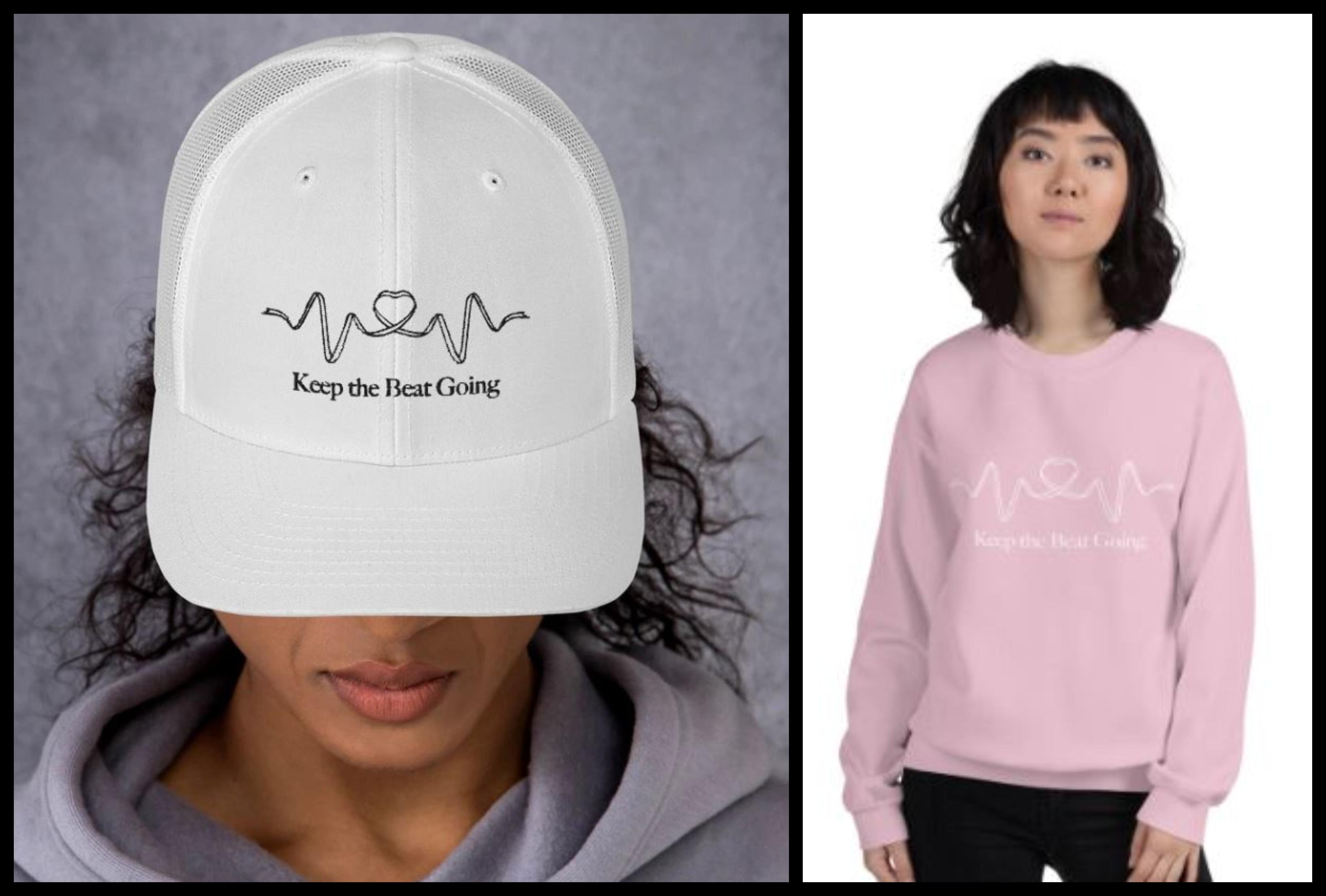 Keep the Beat Going merchandise
