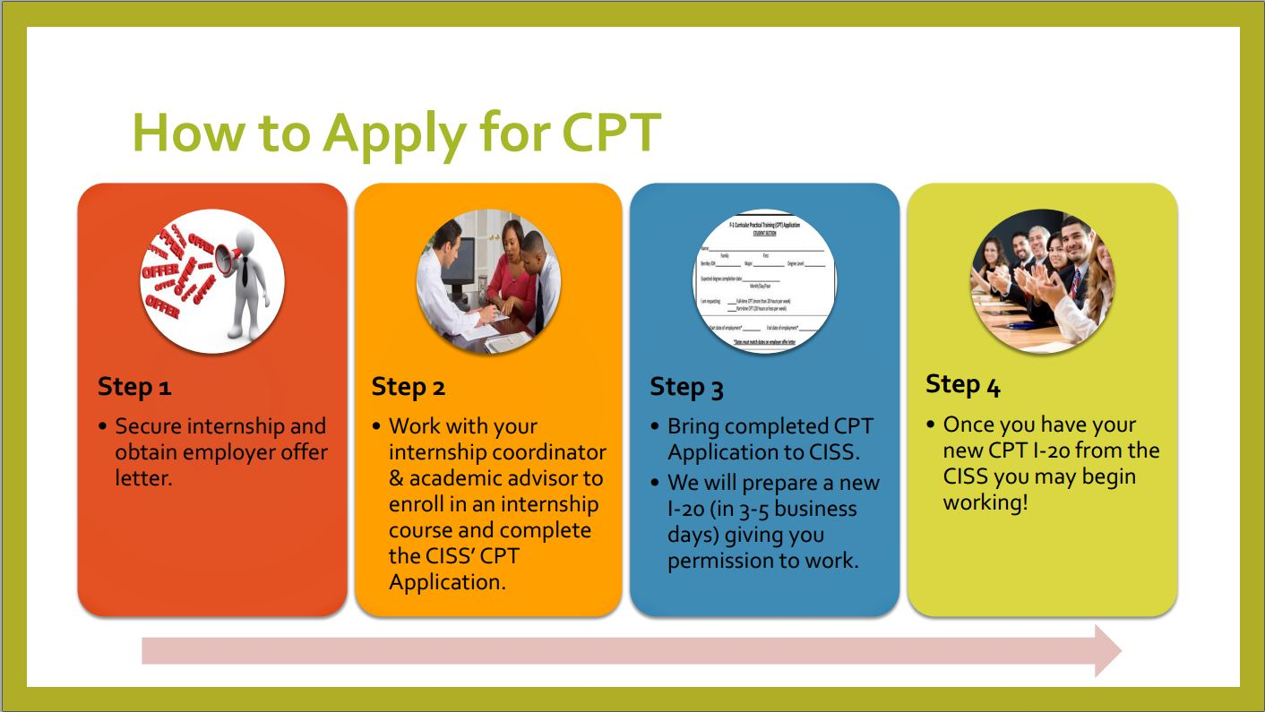 How to Apply for CPT