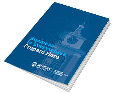 Bentley University Graduate Viewbook