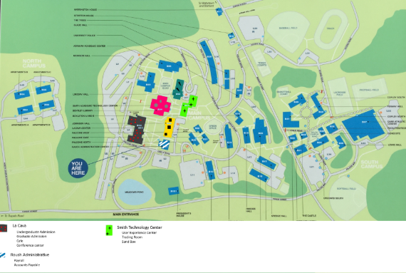 Bentley University Map The 8 Hour UX Challenge | Bentley University
