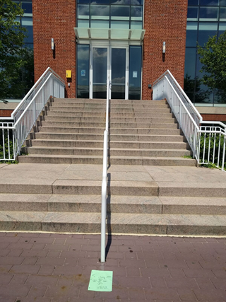 stairs of campus