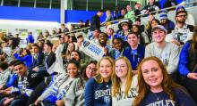 bentley students at arena opening