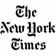 This is the logo for the New York Times.
