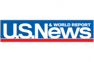 This is the logo for US News & World Report.