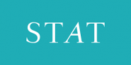This is the logo for STAT News