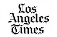 This is the logo for the Los Angeles Times.