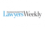 This is the logo for Massachusetts Lawyers Weekly.